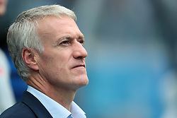 July 6, 2018 - Nizhny Novgorod, U.S. - NIZHNY NOVGOROD, RUSSIA - JULY 06: head coach Didier Deschamps of France during the Quarter-Final match between Uruguay and France in the 2018 FIFA World Cup on July 6, 2018, at Nizhny Novgorod Stadium in Nizhny Novgorod, Russia. (Photo by Anatoliy Medved/Icon Sportswire) (Credit Image: © Anatoliy Medved/Icon SMI via ZUMA Press)