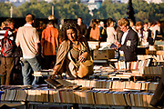 Secondhand bookstall along the southbank of the Thames.