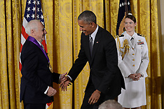 Washington - Obama Awards National Medal Of Arts - 24 Sep 2016