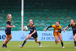 Abi Kershaw of Worcester Warriors Women breaks into space  - Mandatory by-line: Nick Browning/JMP - 24/10/2020 - RUGBY - Sixways Stadium - Worcester, England - Worcester Warriors Women v Wasps FC Ladies - Allianz Premier 15s