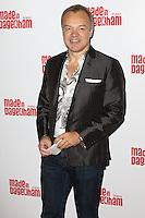 Graham Norton, Made In Dagenham - press night, Adelphi Theatre, London UK, 05 November 2014, Photo by Richard Goldschmidt