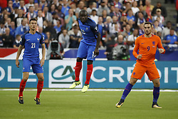 France's N'Golo Kante during the World Cup 2018 Group A qualifications soccer match, France vs Netherlands at Stade de France in Saint-Denis, suburb of Paris, France on August 31st, 2017 France won 4-0. Photo by Henri Szwarc/ABACAPRESS.COM
