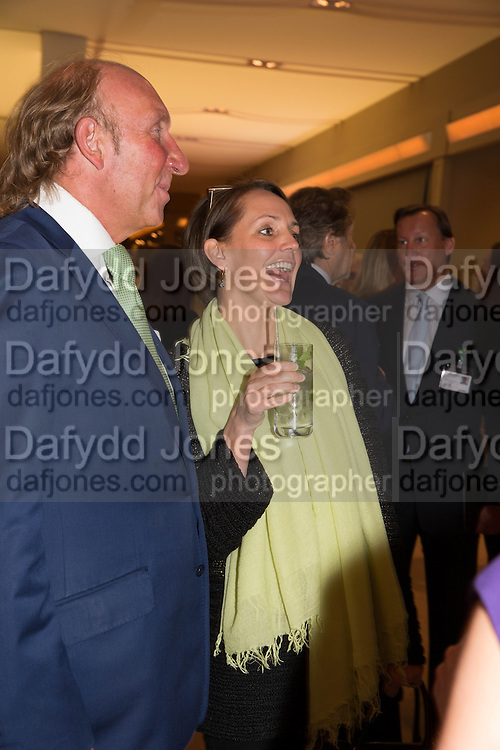 LORD DICK DAVENTRY; SAFFRON ALDRIDGE, Lunch at the Ivy Club pop up-restaurant during the preview of Masterpiece Art Fair. Co-hosted by  Count & Countess Filippo Guerrini-Maraldi, and Lord<br /> Dick Daventry. 26 June 2013