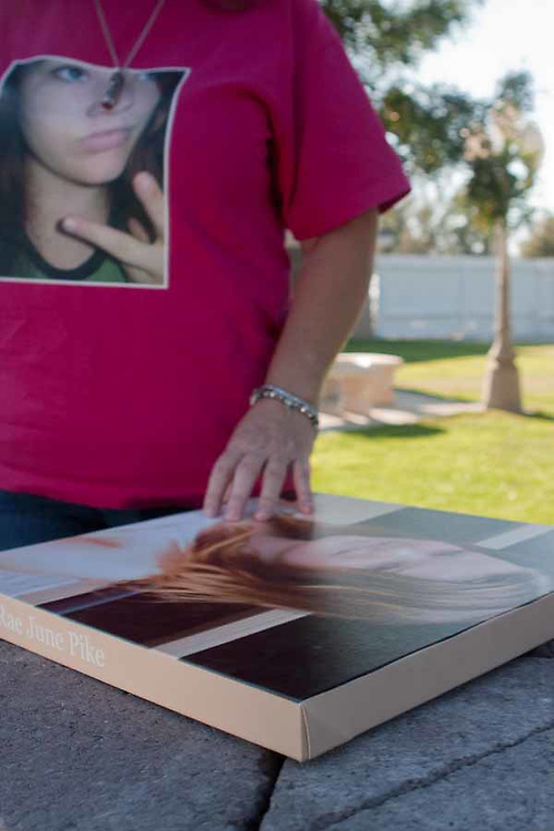 The Mothers of an Angel Network was created by Martha Tessmer after her son Donovan died in a car accident. Families from the Central Valley meet to grieve and heal with each other.