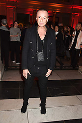 Julien Macdonald at the Mary Quant VIP Preview at The Victoria & Albert Museum, London, England. 03 April 2019. <br /> <br /> ***For fees please contact us prior to publication***