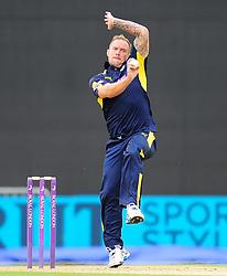 Gareth Andrew of Hampshire bowls.  - Mandatory by-line: Alex Davidson/JMP - 02/08/2016 - CRICKET - The Ageas Bowl - Southampton, United Kingdom - Hampshire v Somerset - Royal London One Day