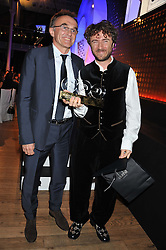 Left to right,DANNY BOYLE and THOMAS HEATHERWICK winner of the Alfred Dunhill Cultural Icon Award at the GQ Men of The Year Awards 2012 held at The Royal Opera House, London on 4th September 2012.