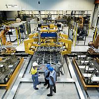 TATA Steel Park Wednesfield - Making car doors for BMW