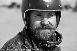 Matt Walksler at the Race of Gentlemen. Wildwood, NJ, USA. October 10, 2015.  Photography ©2015 Michael Lichter.