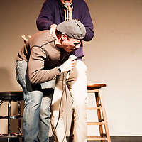 Matt Maragno & Charles Gould as Joe Rogan & Woody Allen - Schtick or Treat 2012 - November 4, 2012 - Littlefield