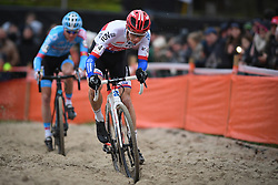 January 5, 2019 - Gullegem, BELGIUM - Czech Michael Boros pictured in action during the men elite race of the Gullegem Cyclocross, Saturday 05 January 2019 in Gullegem, Belgium. BELGA PHOTO DAVID STOCKMAN (Credit Image: © David Stockman/Belga via ZUMA Press)
