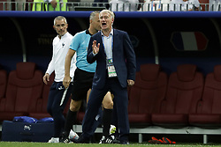 France coach Didier Deschamps during the 2018 FIFA World Cup Russia Final match between France and Croatia at the Luzhniki Stadium on July 15, 2018 in Moscow, Russia