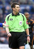 Photo: Dave Linney.<br />Leicester City v Wolverhampton Wanderers. Coca Cola Championship. 04/02/2006 .Ref  Lee Probert