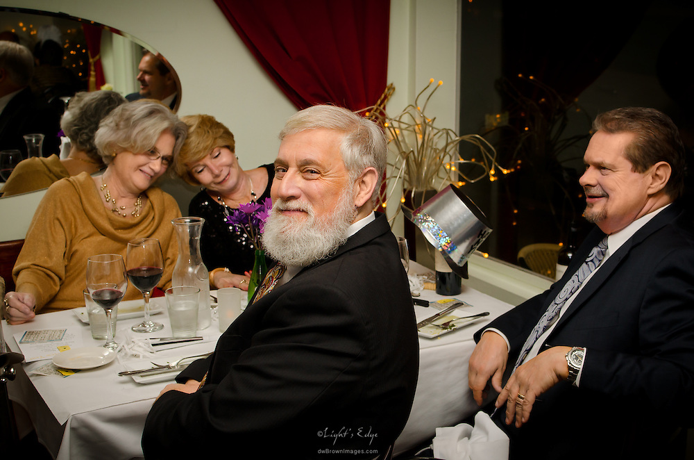 A New Year's Eve dinner and celebration at Sweet Lula's restaurant in Pitman, NJ.