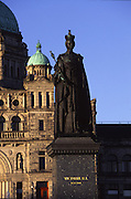 Queen Victoria Statue, Victoria, British Columbia, Canada<br />