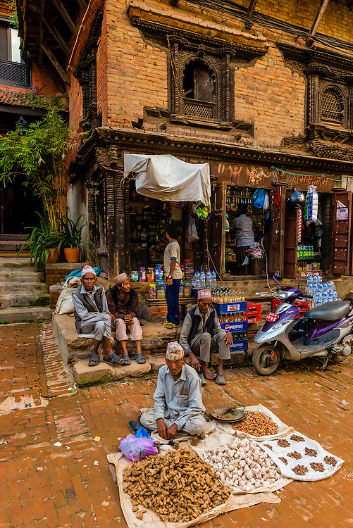 Taumadhi Square, Bhaktapur, Kathmandu Valley, Nepal.