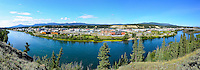 Panorama of the City of Whitehorse, Yukon