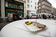 RAW herring in the streets of Amsterdam