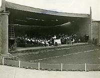 1924 Hollywood Bowl orchestra
