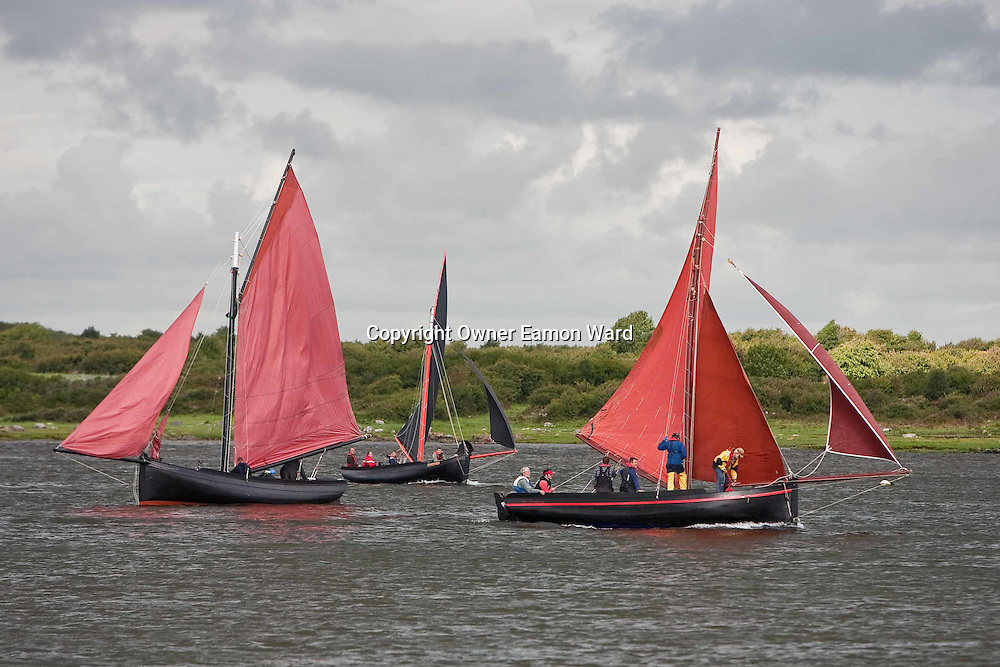 Galway Hookers at the Crinniú na mBad,Kinvara,Co Galway at the weekend. Photograph by Eamon Ward