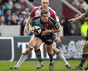 Twickenham, GREAT BRITAIN, Mel DEANE, during the Guinness Premieship match, NEC Harlequins vs Bristol Rugby, at the Twickenham Stoop Stadium, England, on Sat 24.02.2007  [Photo, Peter Spurrier/Intersport-images].....