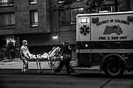 During the pandemic lockdown, often the only sounds were sirens - first responders taking patients to hospitals.