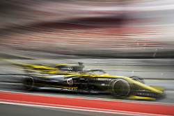 February 20, 2019 - Barcelona, Spain - HULKENBERG Nico (ger), Renault Sport F1 Team RS19, action during Formula 1 winter tests from February 18 to 21, 2019 at Barcelona, Spain - Photo  /  Motorsports: FIA Formula One World Championship 2019, Test in Barcelona, (Credit Image: © Hoch Zwei via ZUMA Wire)