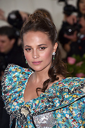 Alicia Vikander attends The 2019 Met Gala Celebrating Camp: Notes On Fashion at The Metropolitan Museum of Art on May 06, 2019 in New York City. Photo by Lionel Hahn/ABACAPRESS.COM