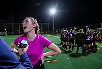 BEVERWIJK  - Keeper Fransje Boot (Overbos) na de dames Gold Cup hockeywedstrijd Overbos-Hurley (0-4).  COPYRIGHT KOEN SUYK