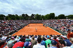 June 1, 2018 - Paris, U.S. - PARIS, FRANCE  - JUNE 01 JUN 01: GILLES SIMON (FRA) during the French Open on June 01, 2018 at Stade Roland-Garros in Paris, France. (Photo by Chaz Niell/Icon Sportswire) (Credit Image: © Chaz Niell/Icon SMI via ZUMA Press)