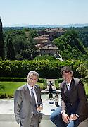 Italy, Tuscany, Il Borro, resort, Spa, and winery, ownde by Ferragamo Family.Ferruccio and Salvatore Ferragamo