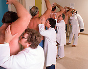 These researchers worked at Hill Top Research Inc., Cincinnati, Ohio and every morning about 75 men and women would parade through their labs and offer up their pits, feet, breath and private parts in the name of olfactory science.
