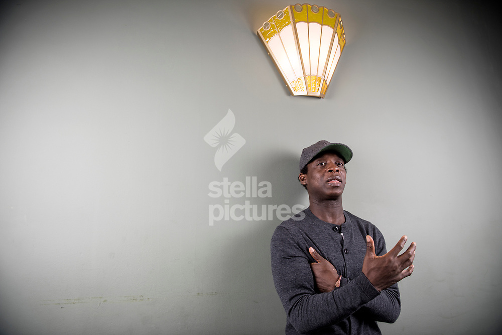 Kobna Holdbrook- Smith pictured at Aldwych Theatre, Soho.<br /> Holdbrook- Smith stars as Ike Turner in a production about singer Tina Turner.<br /> Picture by Daniel Hambury/@stellapicsltd 07813022858<br /> 15/03/2018