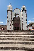 San Antonio Parish Church in the colonial UNESCO heritage city of San Miguel de Allende, Mexico.