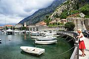 Kotor, Montenegro old harbour