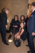 CAROLE PHILLIPS; ZAHA HADID; MYA; ELISKA KAPRITSKY, VIP opening  of the new Serpentine Sackler Gallery designed by Zaha Hadid . Kensinton Gdns. London. 25 September 2013