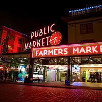 A must-stop in an iconic city: Pike Place Market - some of the best food in Seattle is available here, either in restraints or the fresh fish and produce of this namesake gathering place.