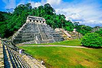 Palenque archaeological site (Mayan ruins), Chiapas, Mexico
