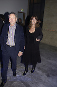 Nick and Nettie Mason, The Almeida Theatre Charity Christmas Gala, to raise funds for the theatre, at the Victoria Miro Gallery, London.  1 December  2005. ONE TIME USE ONLY - DO NOT ARCHIVE  © Copyright Photograph by Dafydd Jones 66 Stockwell Park Rd. London SW9 0DA Tel 020 7733 0108 www.dafjones.com