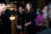 MEL B; CINDY CRAWFORD, ,- CINDY CRAWFORD HOSTS  LAUNCH OF THE NEW OMEGA 2009 CONSTELLATION COLLECTION. Almada. Berkeley St. London. 15 October 2009