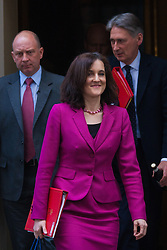 London, March 24th 2015. Members of the Cabinet gather at Downing street for their weekly meeting. PICTURED: Northern Ireland Secretary Theresa Villiers