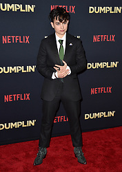 Bex Taylor-Klaus attends the premiere of Netflix's 'Dumplin'' at TCL Chinese 6 Theatres on December 6, 2018 in Los Angeles, CA, USA. Photo by Lionel Hahn/ABACAPRESS.COM