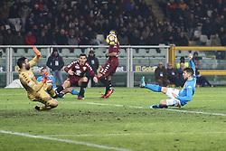 December 16, 2017 - Turin, Italy - Torino goalkeeper Salvatore Sirigu (39) in action during the Serie A football match n.17 TORINO - NAPOLI on 16/12/2017 at the Stadio Olimpico Grande Torino in Turin, Italy. (Credit Image: © Matteo Bottanelli/NurPhoto via ZUMA Press)