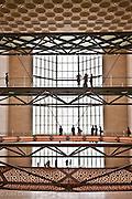 Interior of The Museum of Islamic Art, Doha, Qatar, I. M. Pei