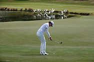 Micah Lauren Shin (USA) In action on the 5th hole Hills Course during the second round of the New Zealand Open 2020, Millbrook Resort, Queenstown, New Zealand. 27/02/2020<br /> Picture: Golffile | Phil Inglis<br /> <br /> <br /> All photo usage must carry mandatory copyright credit (© Golffile | Phil Inglis)