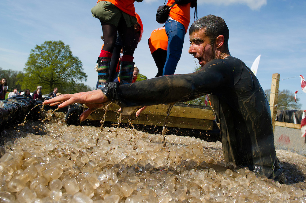 Tough Mudder - May 2012 - Northamptonshire - Ice Pool Warren Pole