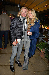 The Ivy Chelsea Garden's Guy Fawkes Party & Launch of The Winter Garden was held on 5th November 2016.<br /> Picture shows:-NICKY CLARKE and KELLY SIMPKIN.