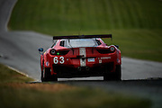 August 23, 2015: IMSA GT Race: Virginia International Raceway  #63 Sweedler, Bell, ITA Scuderia Corsa Ferrari 458 Italia, GTD