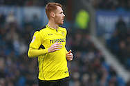 Burton Albion midfielder Tom Naylor (15) during the EFL Sky Bet Championship match between Brighton and Hove Albion and Burton Albion at the American Express Community Stadium, Brighton and Hove, England on 11 February 2017. Photo by Bennett Dean.