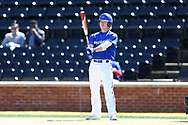 WINSTON-SALEM, NC - MARCH 04: UMass Lowell's Michael Young. The Wake Forest University Demon Deacons hosted the UMass Lowell River Hawks on March 4, 2018, at David F. Couch Ballpark in Winston-Salem, NC in a Division I College Baseball game. Wake Forest won the game 14-7.